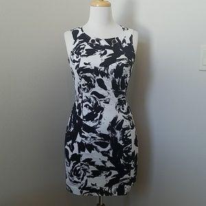 Alfani Black & White Sleeveless Dress